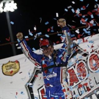 Brandon Sheppard Victory Lane - Bubba Raceway Park 8676