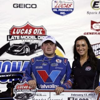 Brandon Sheppard Victory Lane Girl 4835