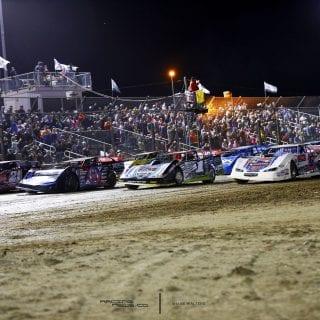 Bubba Raceway Park 4 Wide Salute LOLMDS 8367