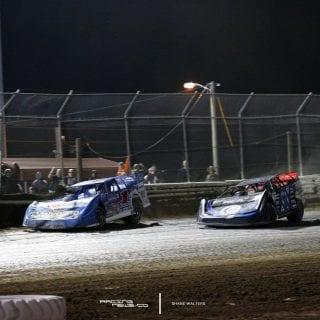 Bubba Raceway Park Lucas Oil Dirt Series Finish - February 19 2017 Results Brandon Sheppard Scott Bloomquist 8664