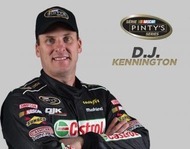 DJ Kennington NASCAR Pinty's Series Driver