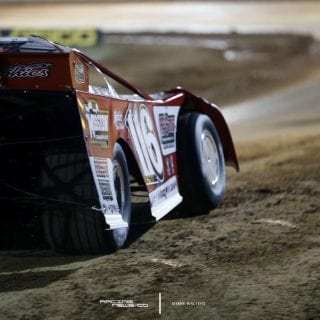Dirt Late Model Right Rear