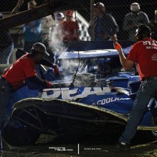 Don Oneal Bubba Raceway Park Crash 8496