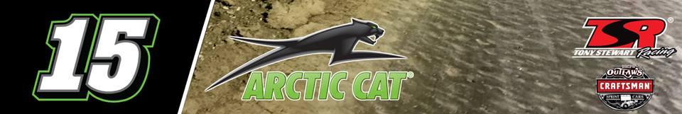 Donny Schatz 2017 Arctic Cat Car - Tony Stewart Racing World of Outlaws