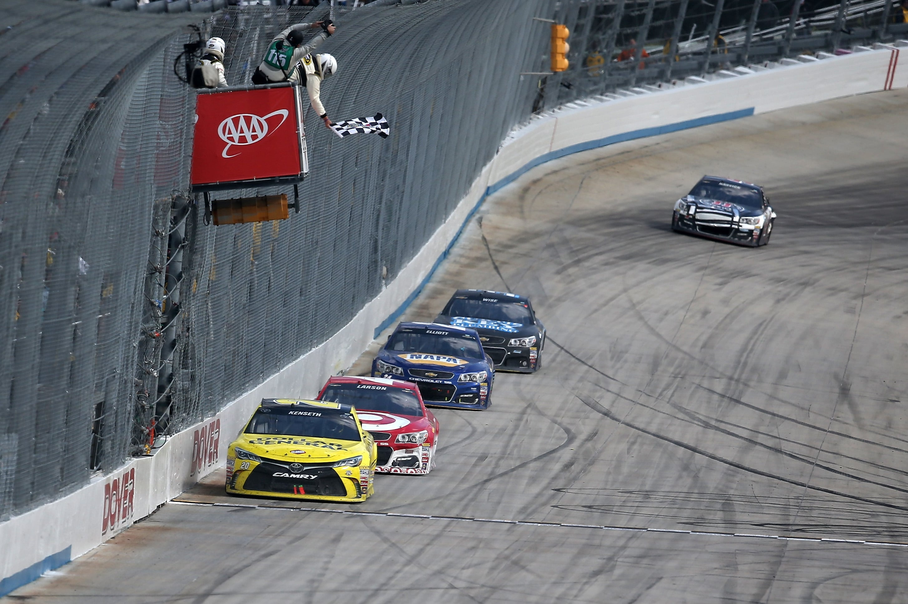 Dover International Speedway SAFER Barriers Extension