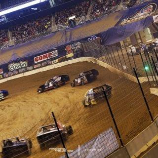 Gateway Dirt Nationals Modified Racing