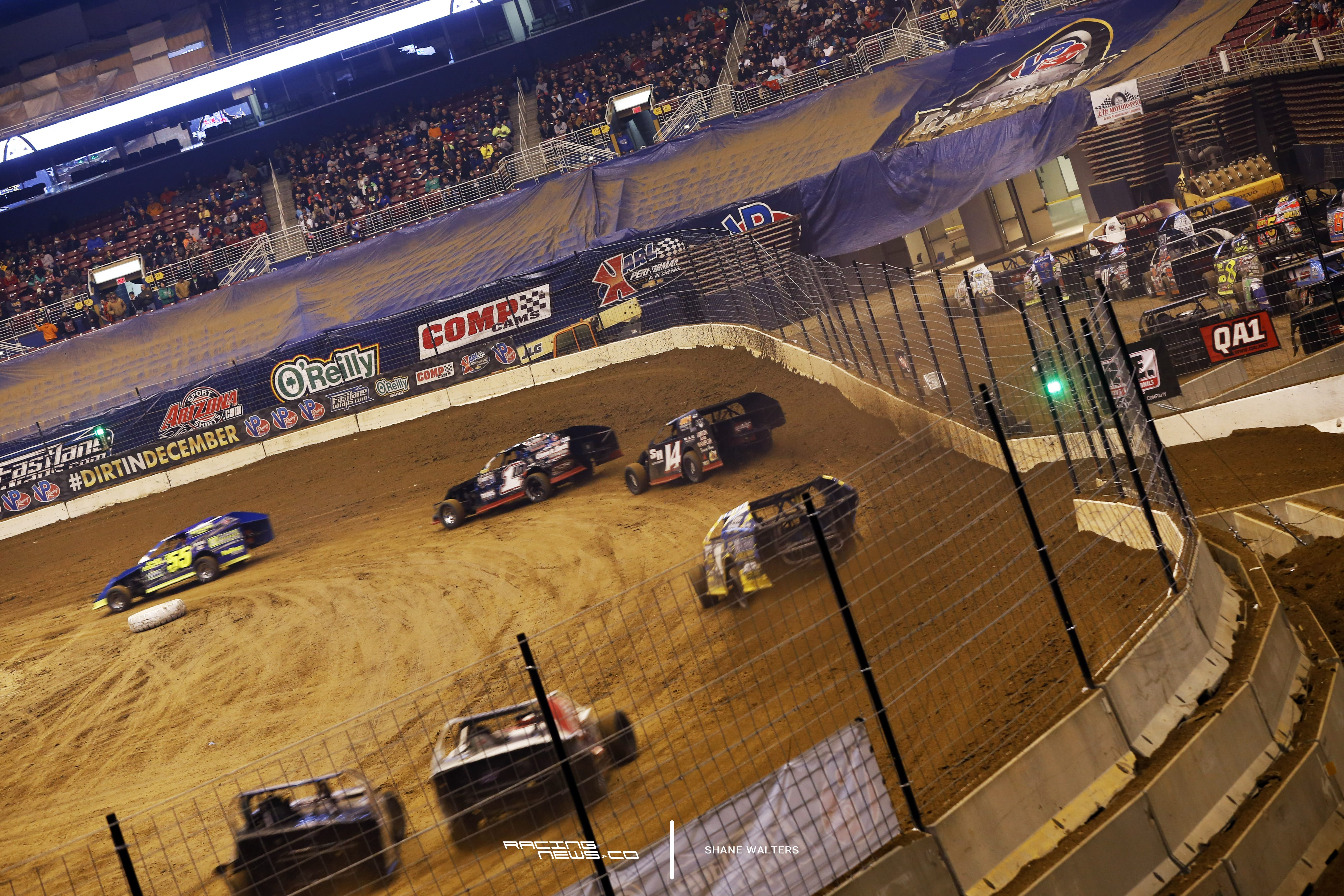 Gateway Dirt Nationals Modified Racing