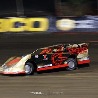 Gold Racecar Photo 5268