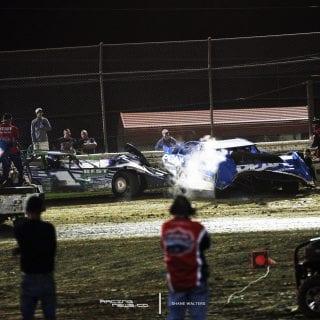 Josh Richards Crash Bubba Raceway Park 8491