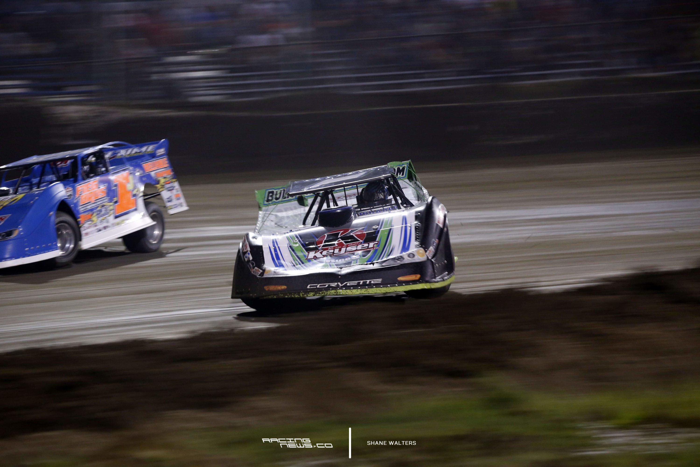 Josh Richards East Bay Raceway Park Win - Lucas Oil Late Model Dirt Series 2017 5463