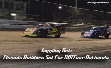 Juggling Act: Chassis Builders Set For DIRTcar Nationals UMP Modified Competition at Volusia