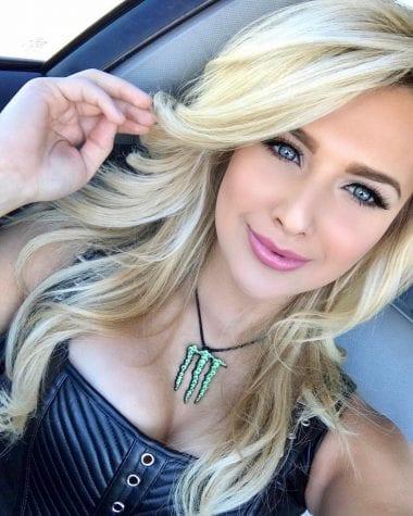 Julie Bonarrigo NASCAR Monster Energy Girl