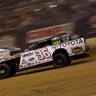 Kenny Wallace Gateway Dirt Nationals Dirt Modified Racecar
