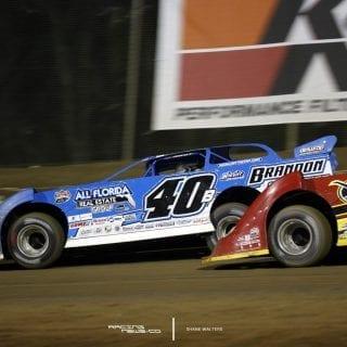 Kyle Branson Bubba Raceway Park Lucas Oil Late Model Dirt Series 8489