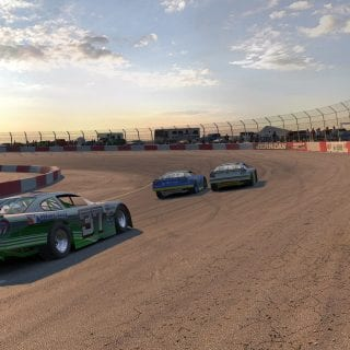 Las Vegas Motor Speedway Bullring iRacing Late Model Screenshot