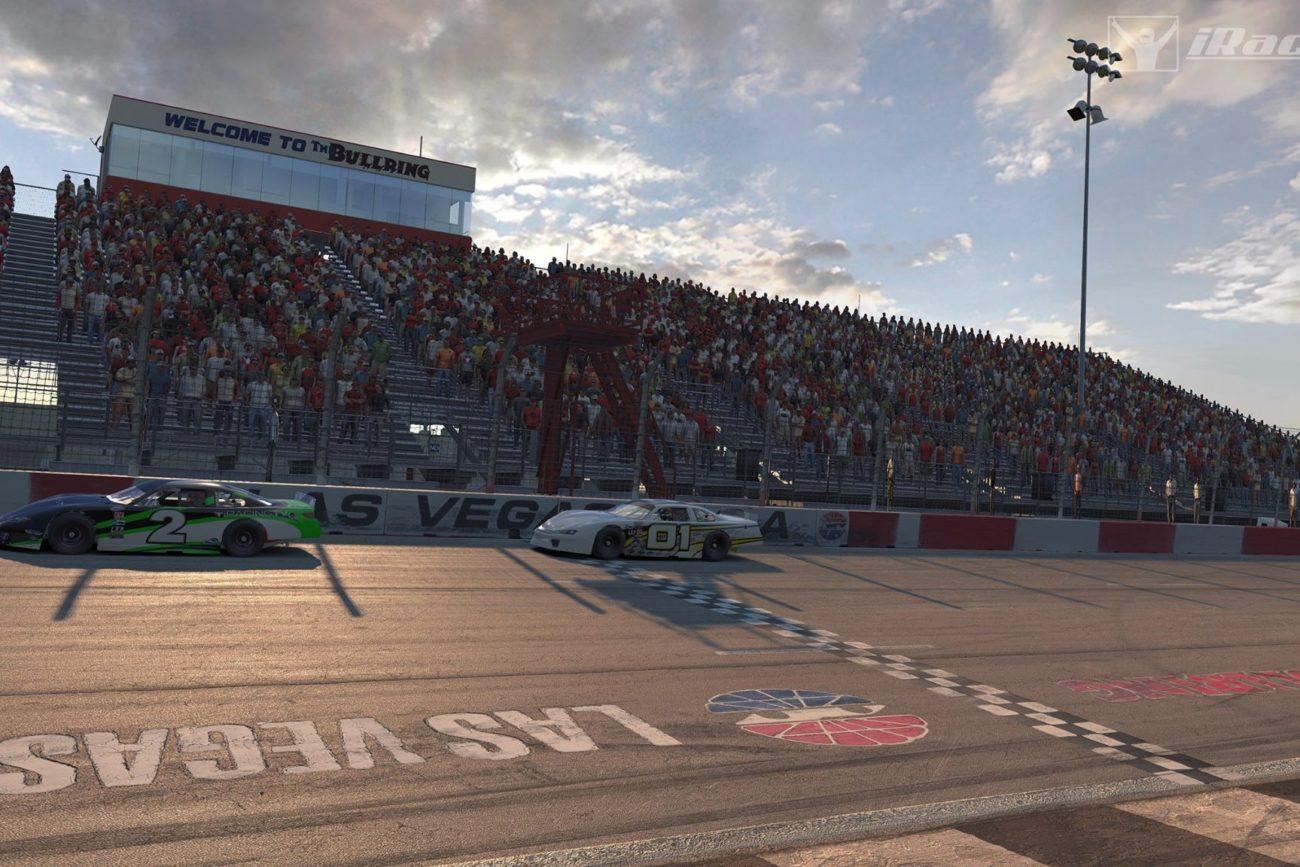 Las Vegas Motor Speedway Bullring iRacing Screenshot