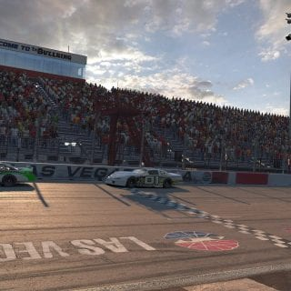 Las Vegas Motor Speedway Bullring iRacing Screenshot