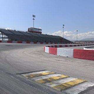 Las Vegas Motor Speedway Bullring iRacing Shot Track Racing Screenshot