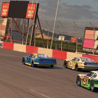 Las Vegas Motor Speedway Bullring iRacing Shot Tracks Screenshot