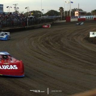 Lucas Oil Late Model Dirt Series - East Bay Raceway Park 4159