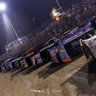 Lucas Oil Late Model Dirt Series Starting Grid 5391