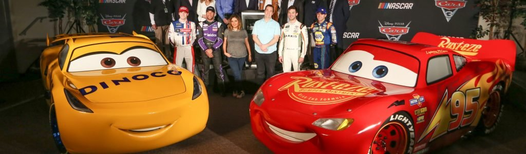 NASCAR Cars 3 Collaborations – 12 NASCAR Personalities in Disney Film