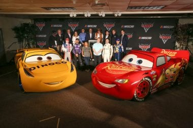 NASCAR Cars 3 Collaborations - 12 NASCAR Personalities in Disney Film