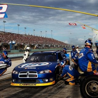 NASCAR Dodge Racecar Photo