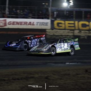 Scott Bloomquist Josh Richards East Bay Raceway Park 7520