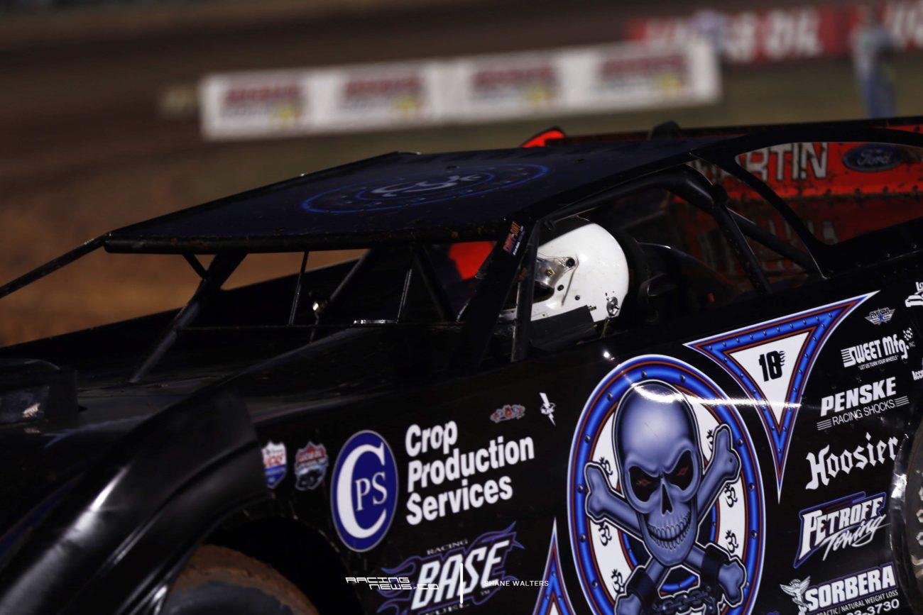 Scott Bloomquist Late to racetrack