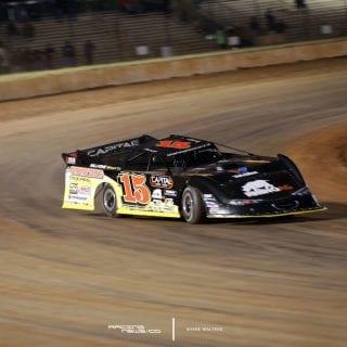 Steve Francis 2017 Car - Dirt Racing Photos