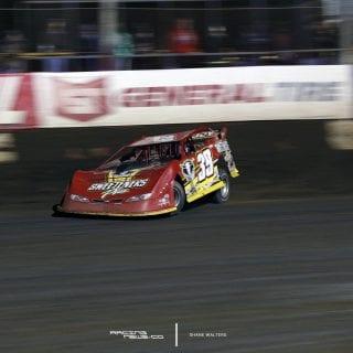 Tim McCreadie 2017 Lucas Oil Late Model Dirt Series Win 6492