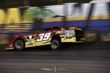 Tim McCreadie Lucas Oil Late Model Dirt Series Winternationals East Bay Raceway Park 6578