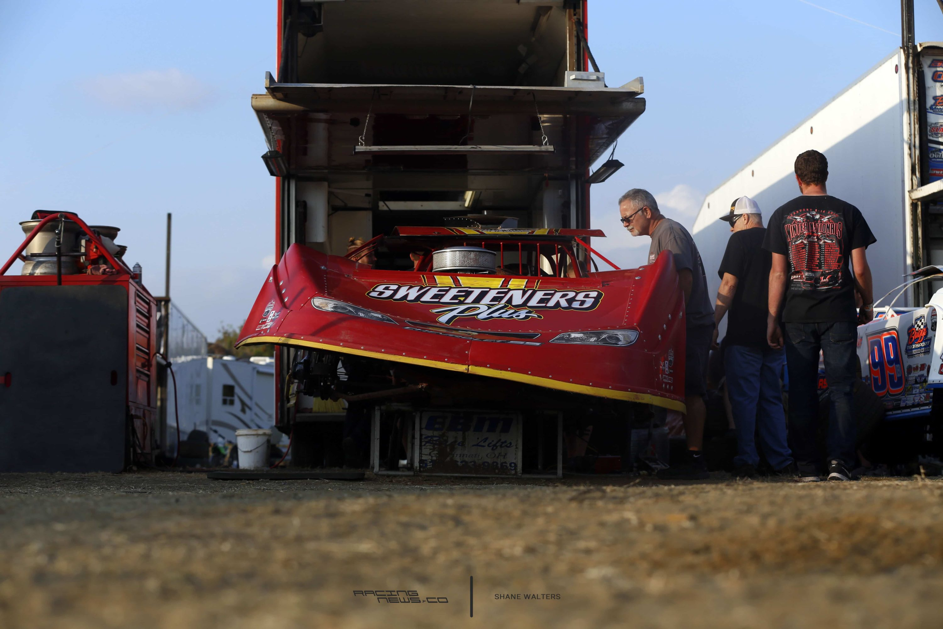 Tim McCreadie Pits - Dirt Late Model 4125