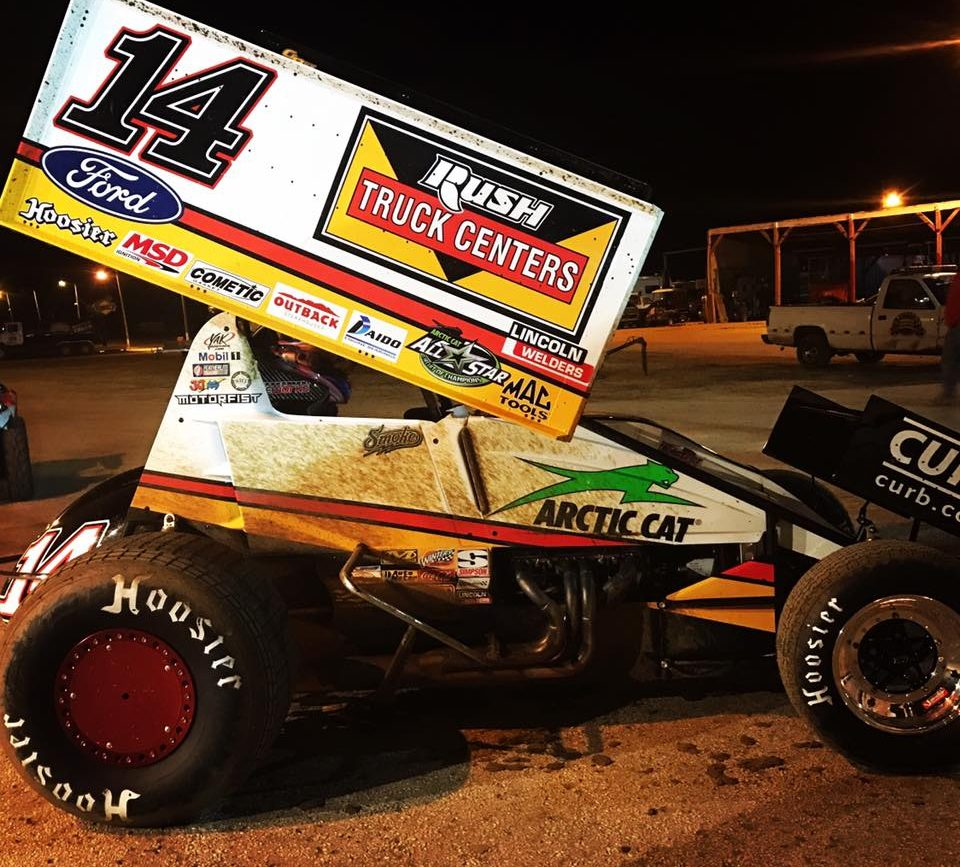 Tony Stewart 2017 Sprint Car - Rush Truck Centers