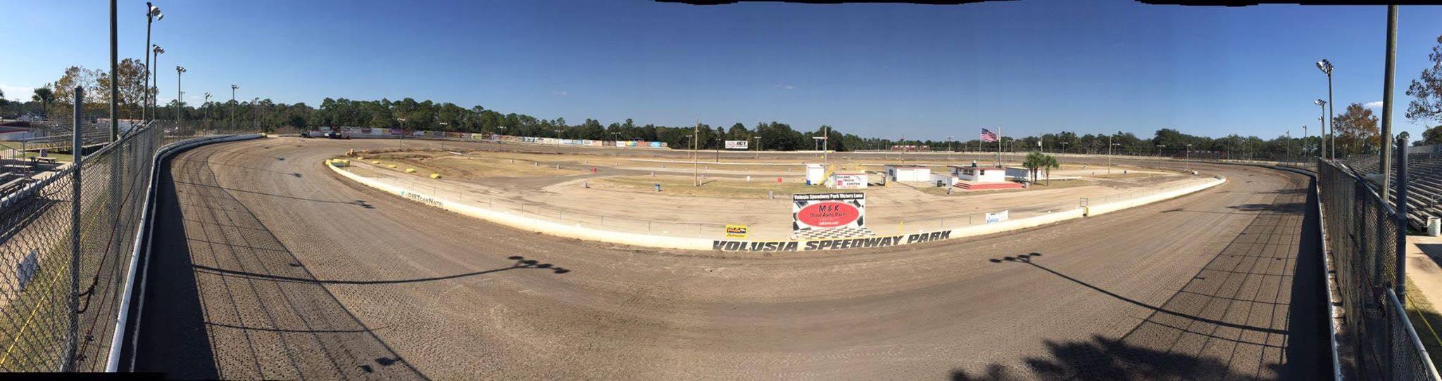 Volusia Speedway Dirt Track
