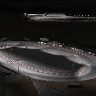 iRacing Las Vegas Motor Speedway Bullring Screenshots