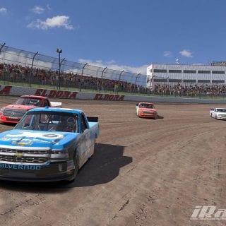 iRacing NASCAR Dirt Truck Screenshot - Eldora Speedway