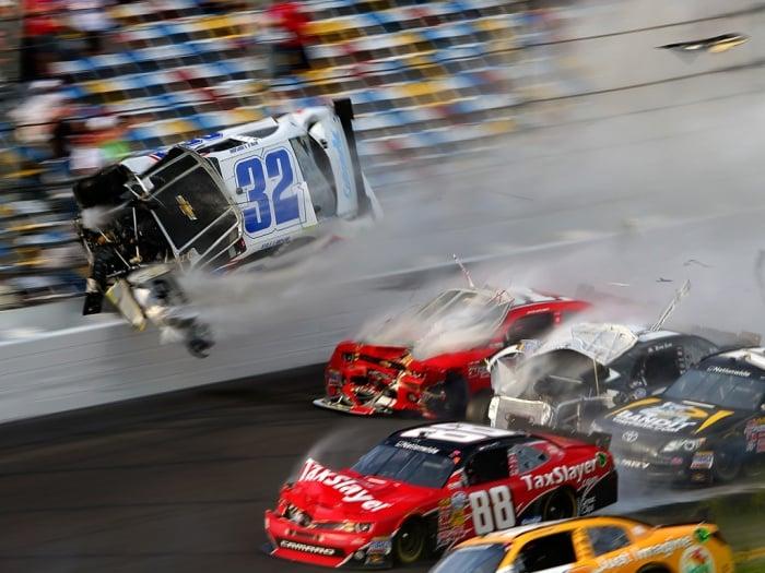 2013 Daytona Debris Lawsuit - Kyle Larson Crash