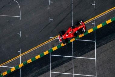 2017 Ferrari f1 Car Photos - On Track