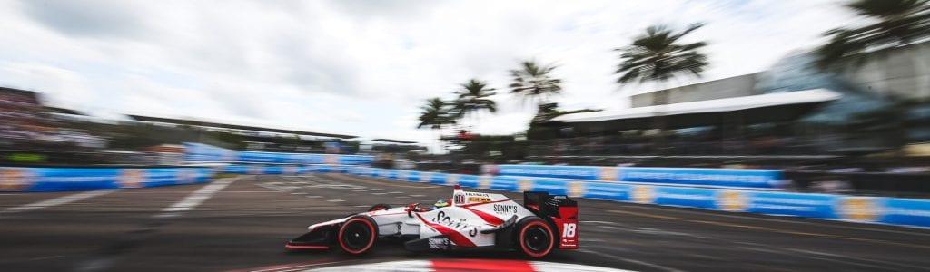 Sebastien Bourdais Drove from Last to First in 2017 St. Petersburg GP (Watch)