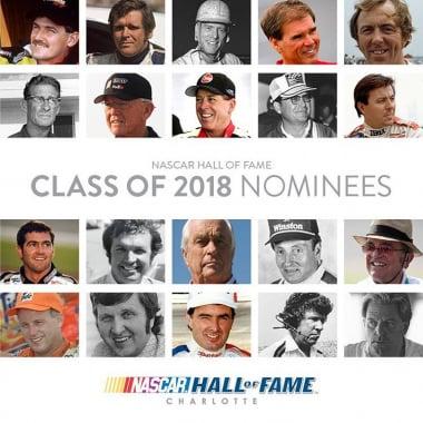2018 NASCAR Hall of Fame Nominees - Motorsports