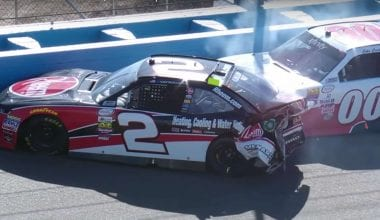 Austin Dillon Wrecks Cole Custer - Penalties?