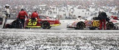 Bristol Motor Speedway Snow Race