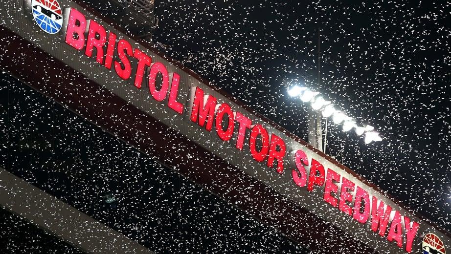 Bristol Motor Speedway Snowfall