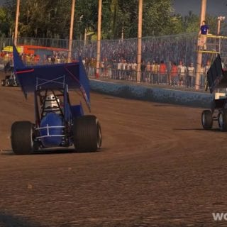 Christopher Bell 410 Sprint Car iRacing Video