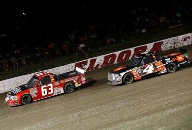 Christopher Bell Eldora Speedway NASCAR Truck Series