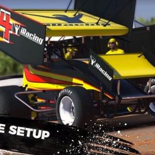 Christopher Bell iRacing Dirt Car Racing Video - Header