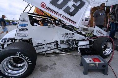 David Steele Sprint Car Driver Killed
