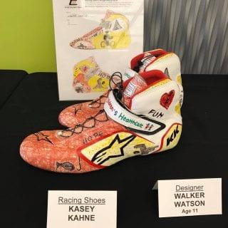Kasey Kahne Atlanta Motor Speedway Racing Shoes